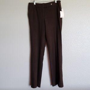 NWT Calvin Klein Brown Pants